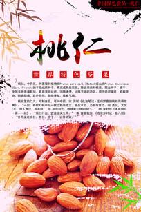 桃仁中药海报设计