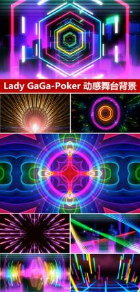 PokerFace动感舞台背景欧美流行音乐