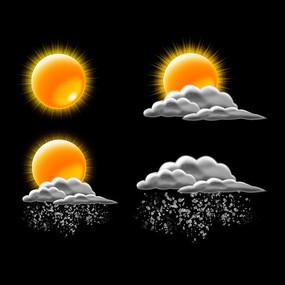 阴天天气图标