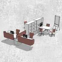 创意组合办公桌