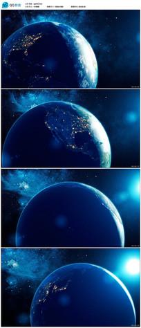 高清地球视频素材