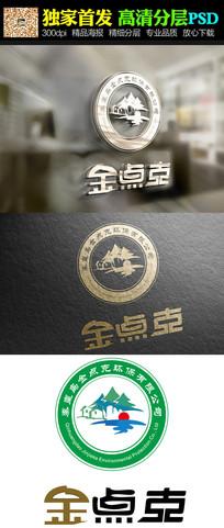 公园创意logo