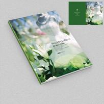 婚纱产品手册封面设计