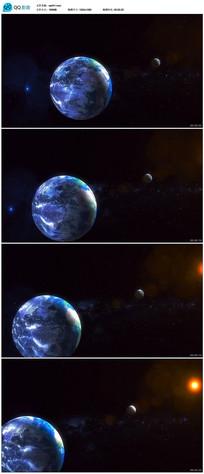 震撼地球镜头高清视频素材