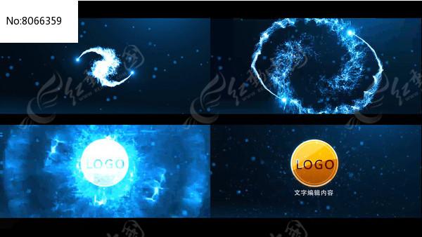 粒子LOGO演绎视频图片