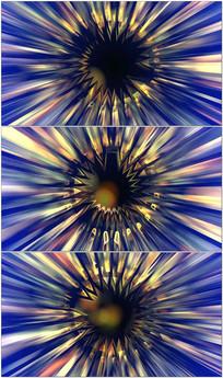 水晶旋转舞台背景视频