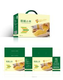 精品米类粮食食品包装礼盒设计