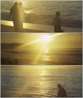 海边落日夕阳