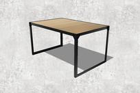 简易钢脚桌子