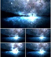 璀璨浪漫星空粒子LED素材