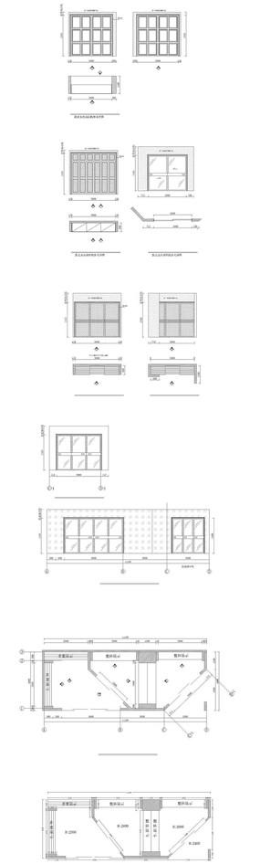 CAD店面平面图