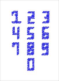 传统元素的数字