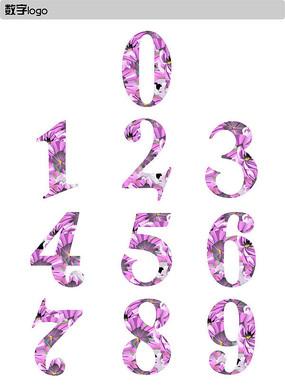 时尚个性花纹数字设计 CDR