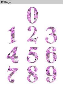 时尚个性花纹数字设计