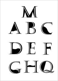 原创英文创意设计标志