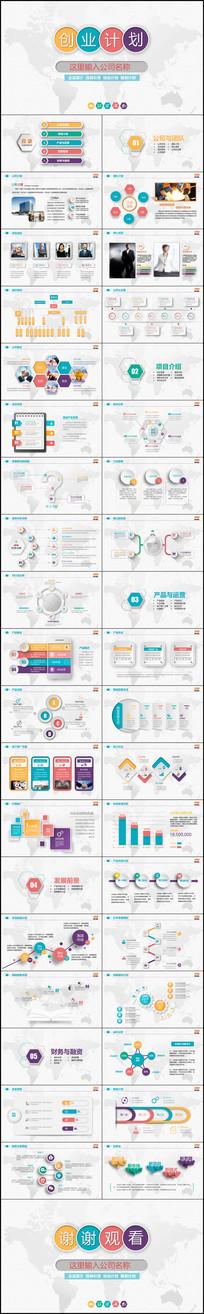 多彩互联网立体商业计划书