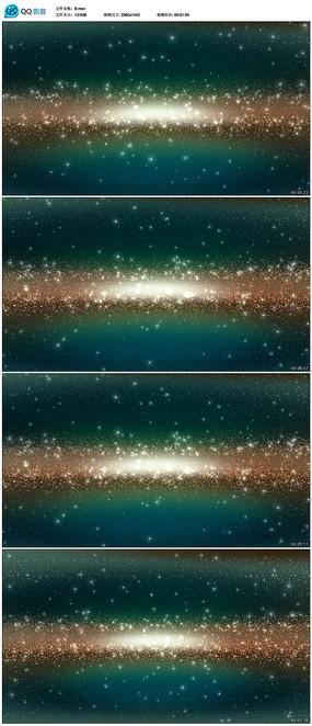 粒子星空視頻背景