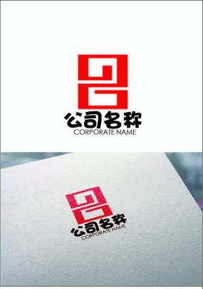 回紋數字logo