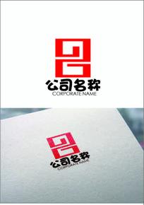 回纹数字logo