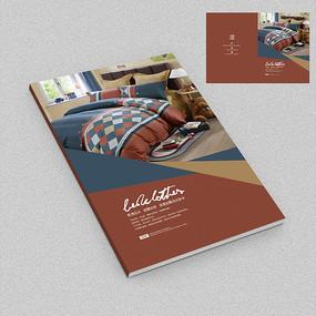儿童家纺床上用品画册封面设计