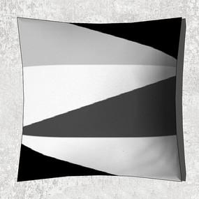 黑白灰抱枕