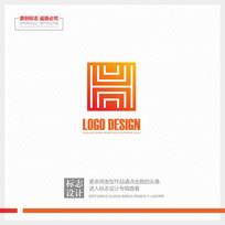 建筑装饰公司企业标志设计