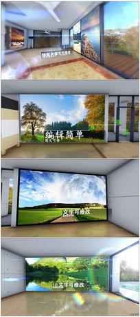 三维室内照片展示模板视频模板