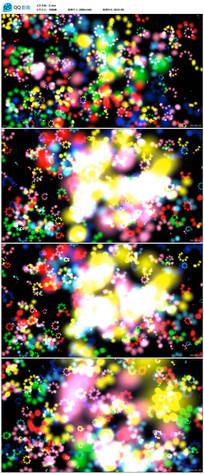 绚丽粒子花朵LED大屏幕背景视频