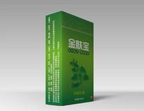 绿色自然化妆品包装