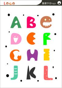 原创字体字母