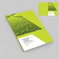茶业种植园宣传画册封面设计