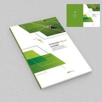农业科技绿色环保宣传册封面