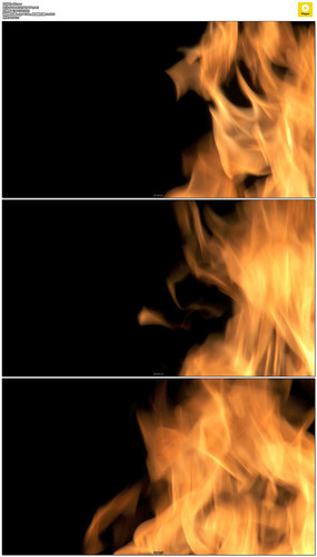 夜晚的篝火