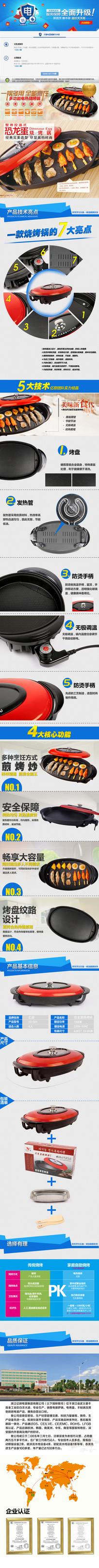 恐龙蛋烧烤锅描述模版