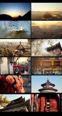 老北京建筑视频素材