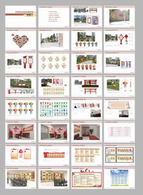 社区乡镇房产指导牌建设vi设计