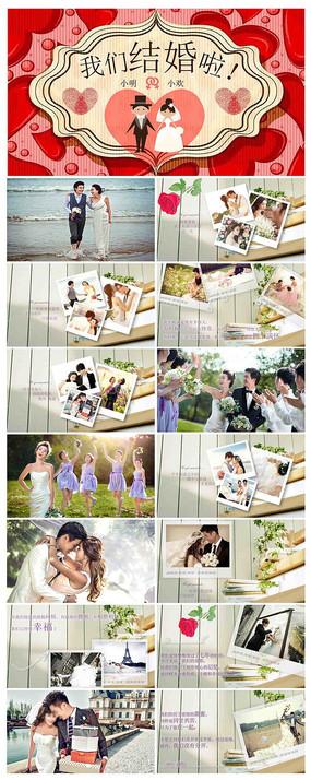 大气简约梦幻高端婚礼结婚PPT模板
