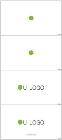 简洁Logo展示动画