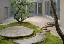 日式庭院景观意向图