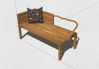 现代中式椅子