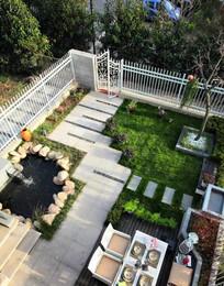 小花园景观意向图
