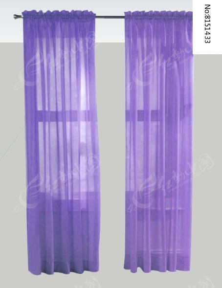紫色纱窗窗户图片