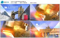 AECS6时尚旅游圣地宣传模板