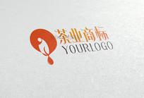 创意禅茶商标logo