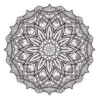 曼陀罗花图片纹身图案