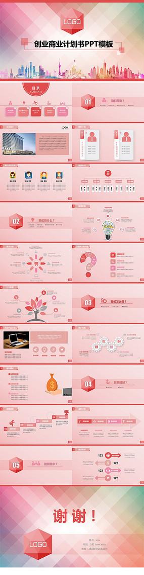商业计划书PPT创业计划PPT模板