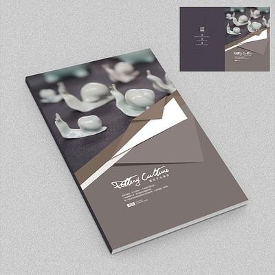 陶瓷工艺品艺术画册封面