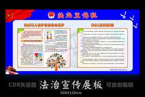 未成年人保护法宣传展板