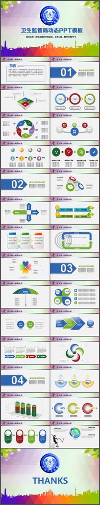 中国卫生监督管理局卫生局工作总结PPT