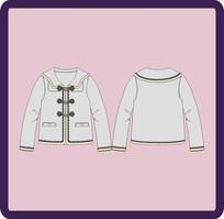 少女童装秋冬季外套